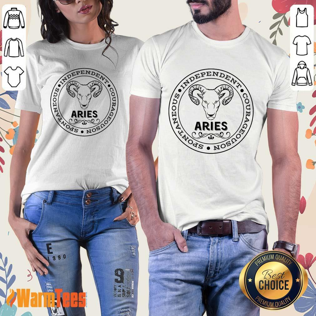 Aries Independent Ladies Tee