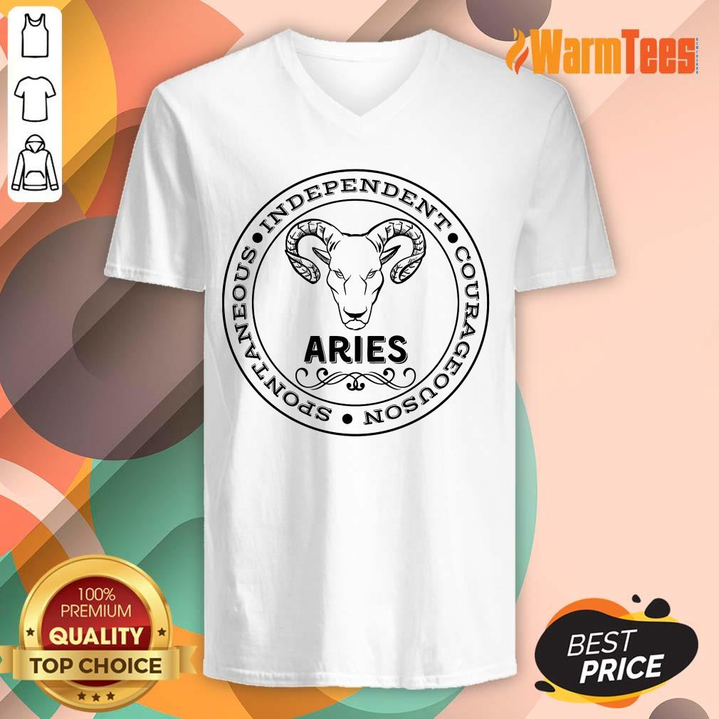 Aries Independent V-neck