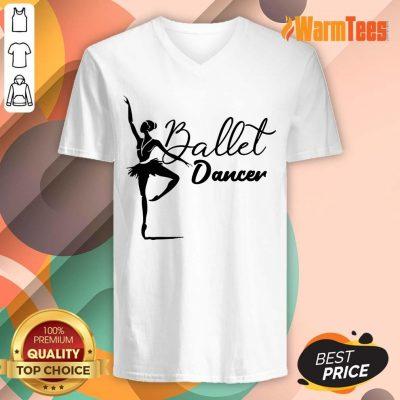 Ballet Dancer V-neck