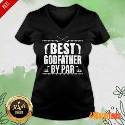 Best Godfather By Par V-neck