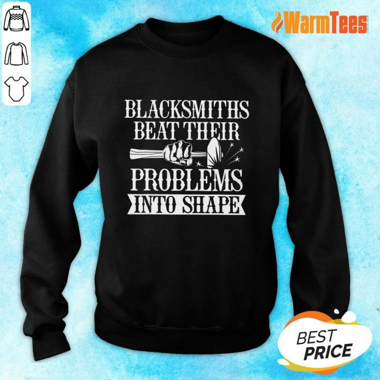Blacksmiths Beat Their Problems Into Shape Sweater