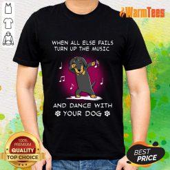 Dachshund Music And Dance Shirt