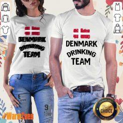 Denmark Drinking Team Ladies Tee