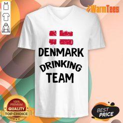 Denmark Drinking Team V-neck
