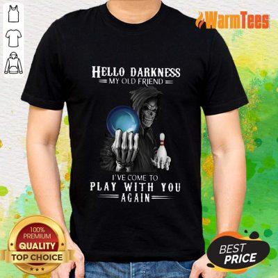 Devil Bowling Hello Darkness My Old Friend Shirt