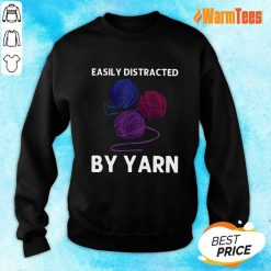 Easily Distracted By Yarn Sweater