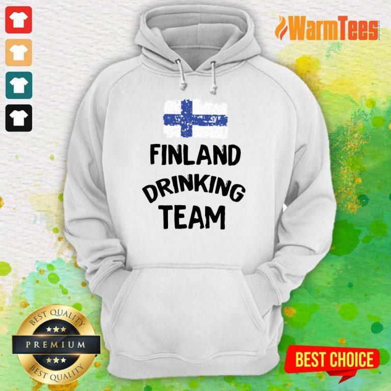 Finland Drinking Team Hoodie