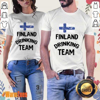 Finland Drinking Team Ladies Tee
