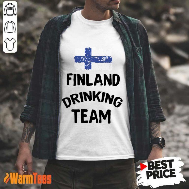 Finland Drinking Team Shirt