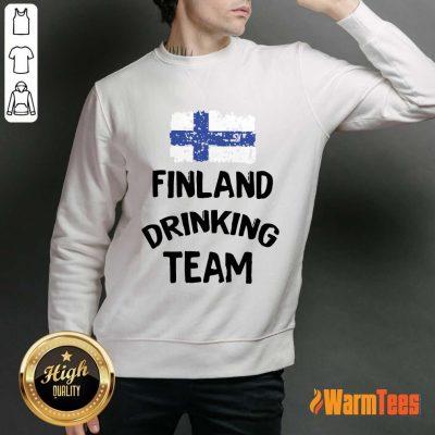 Finland Drinking Team Sweater