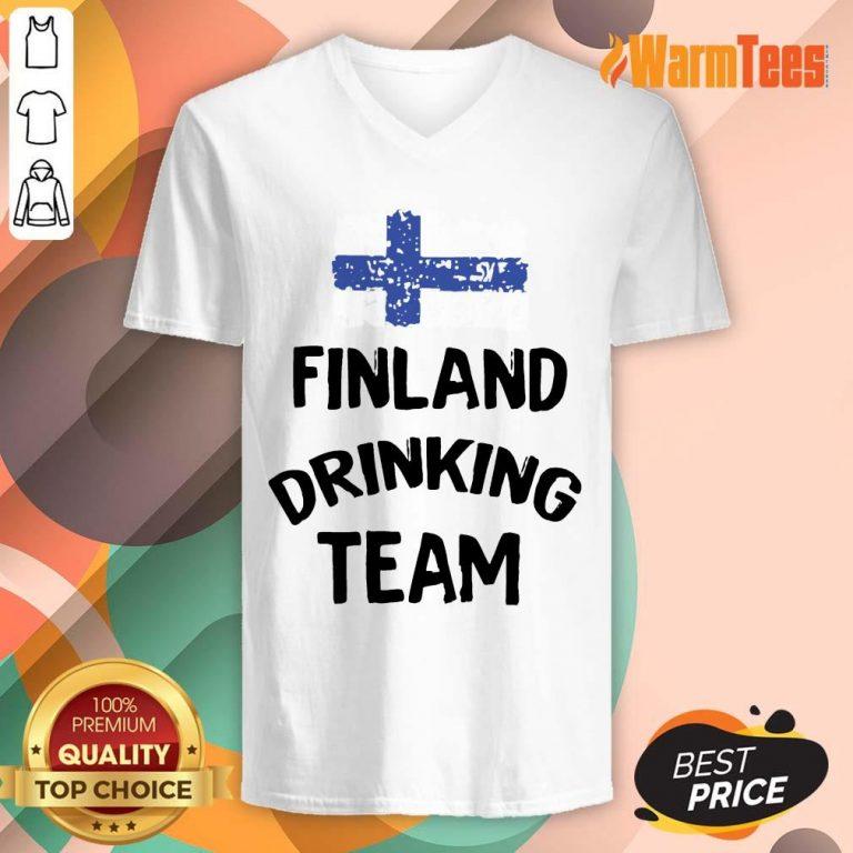 Finland Drinking Team V-neck