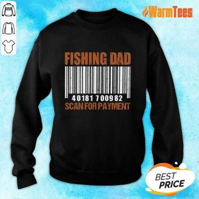 Fishing Dad Scan For Payment Sweater