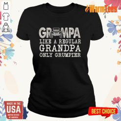 Grumpa Grandpa Ladies Tee