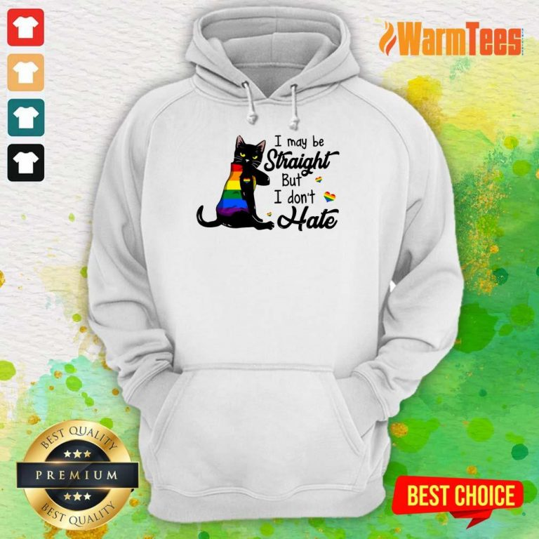 I May Be Straight But I Don't Hate LGBT Hoodie