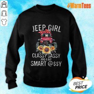 Jeep Girl Classy Sassy Smart Assy Sweater