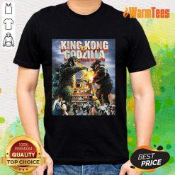 King Kong Vs Godzilla Shirt