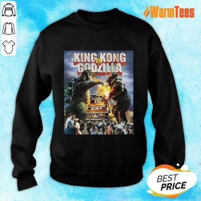King Kong Vs Godzilla Sweater