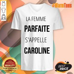 La Femme Parfaite S'appelle Caroline V-neck