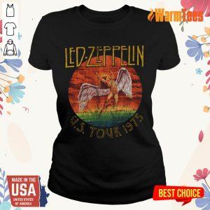Led Zeppelin US Tour 1975 Graphic Ladies Tee