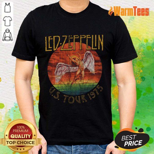 Led Zeppelin US Tour 1975 Graphic Shirt