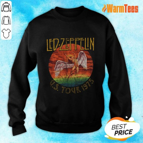 Led Zeppelin US Tour 1975 Graphic Sweater