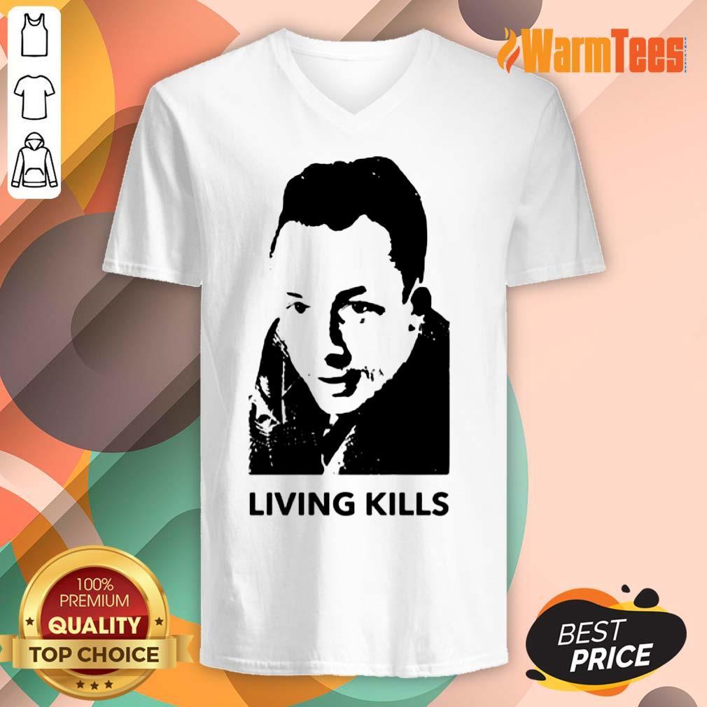 Living Kills V-neck