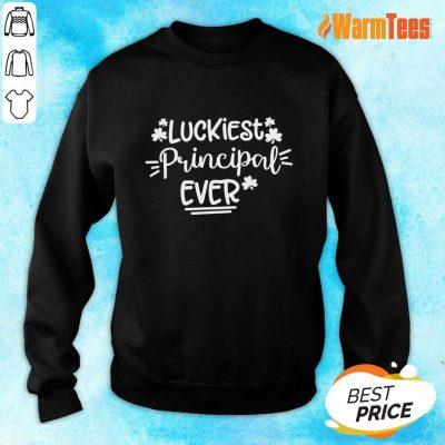Luckiest Principal Ever Sweater