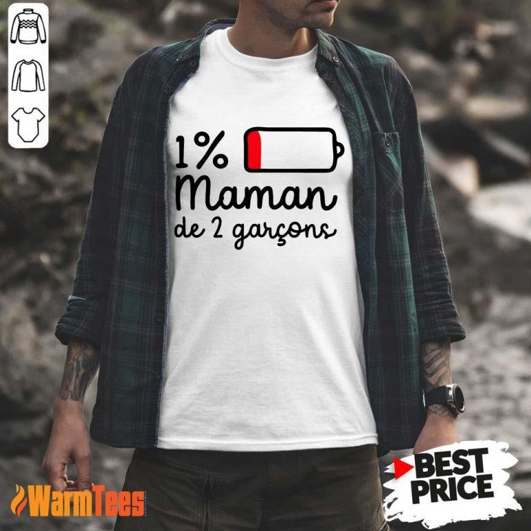 Maman De 2 Garçons Shirt