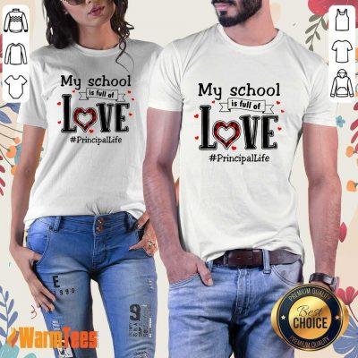 My School Love Principal Life Ladies Tee