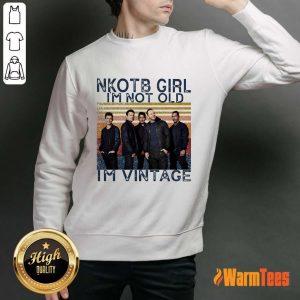 NKOTB Girl I'm Not Old I'm Vintage Sweater