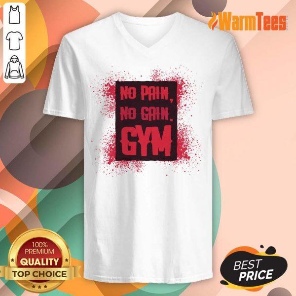 No Pain No Gain Gym V-neck