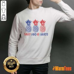 Pineapple Sweet Land Of Liberty Sweater