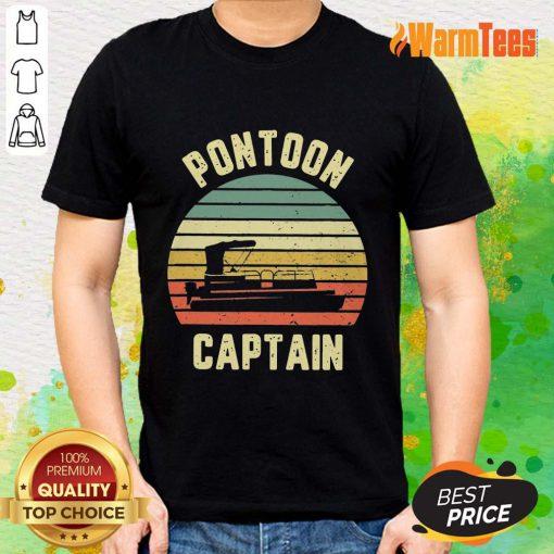 Pontoon Captain Vintage Shirt
