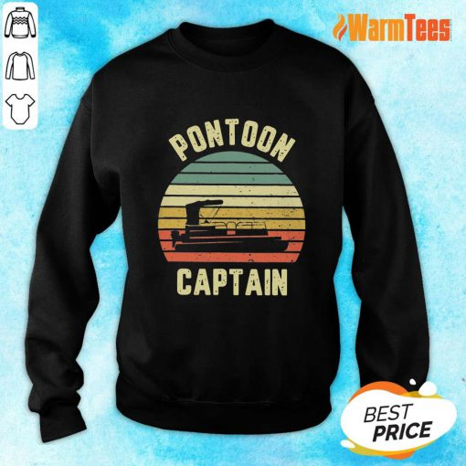 Pontoon Captain Vintage Sweater
