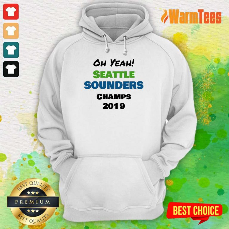 Seattle Sounders Champs 2019 Hoodie