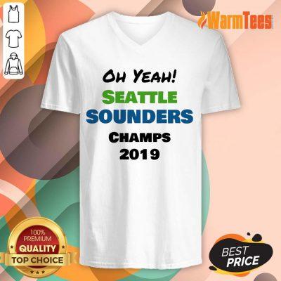 Seattle Sounders Champs 2019 V-neck