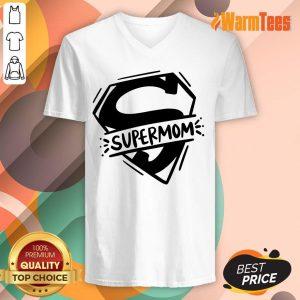 Super Mom V-neck