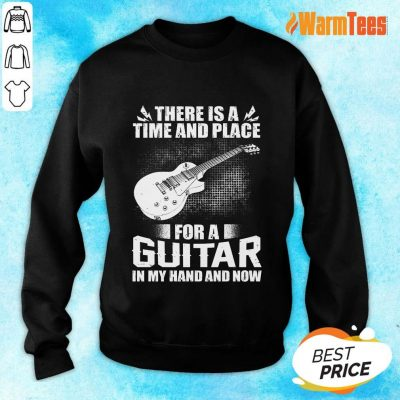 Time And Place For A Guitar In My Hand Sweater