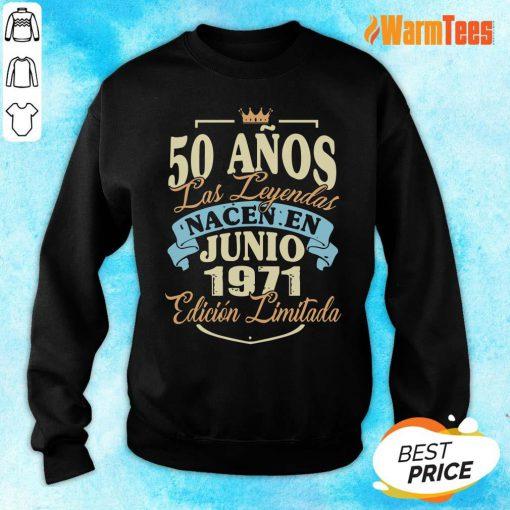 50 Anos Las Leyendas Junio 1971 Sweater