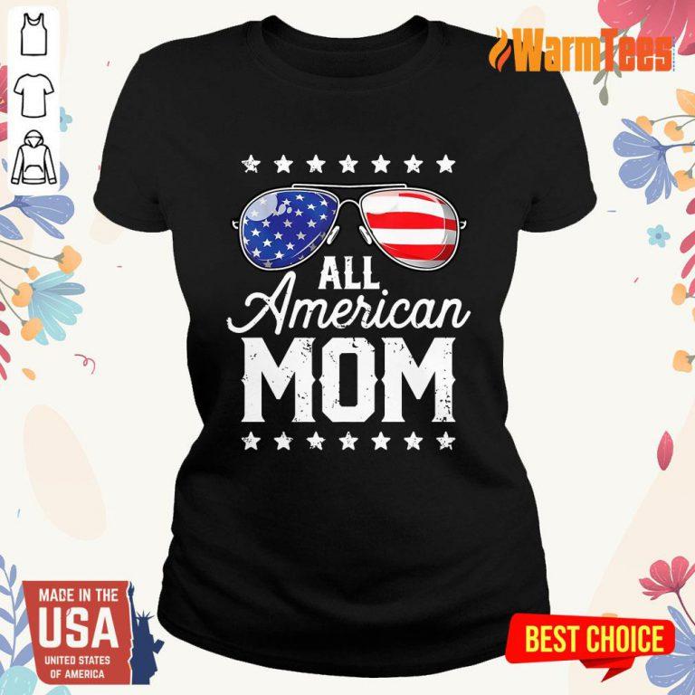 All American Mom Ladies Tee