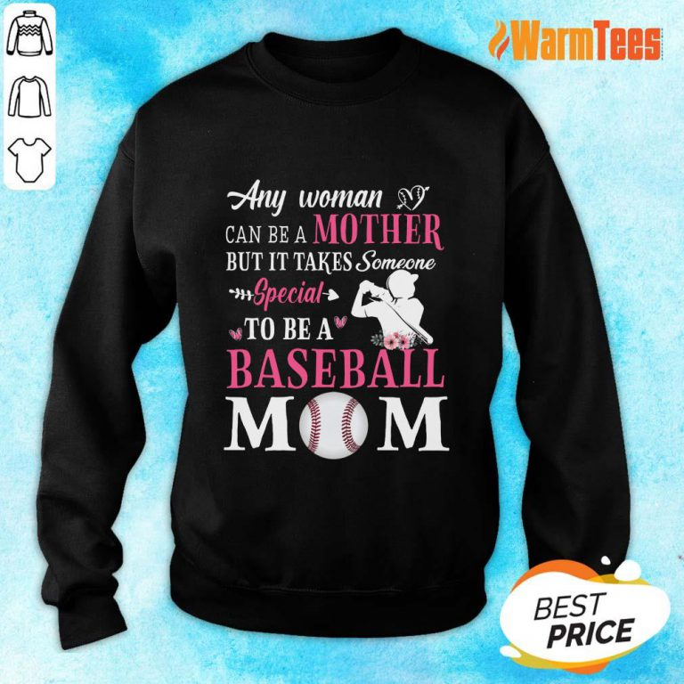 Any Woman Mother Baseball Mom Sweater