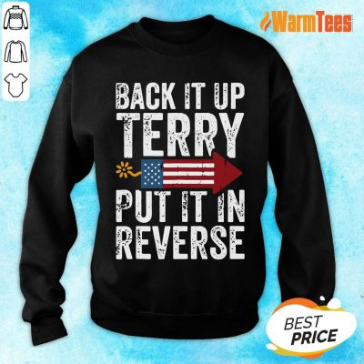 Back It Up Terry Put It In Reverse 4th Of July Firework Sweater