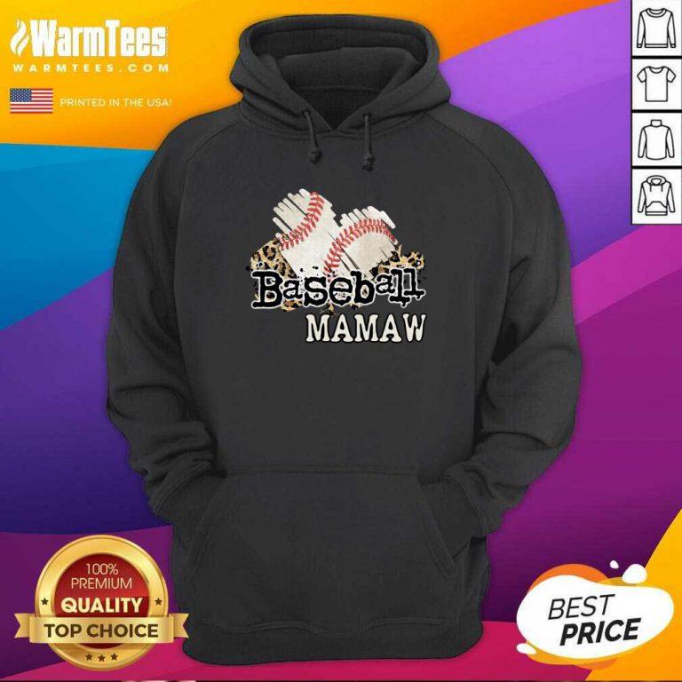 Baseball Mamaw Hoodie