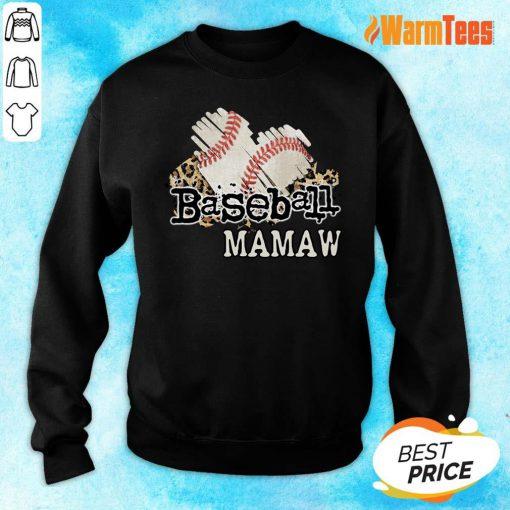 Baseball Mamaw Sweater