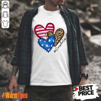 Counselor Life Heart Shirt