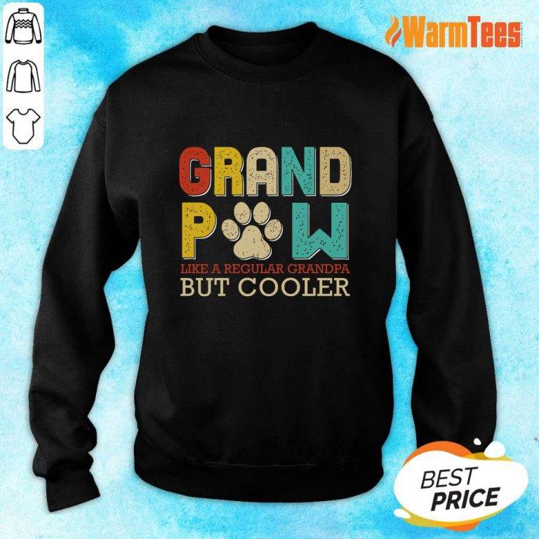 Dog Grand Paw But Cooler Sweater