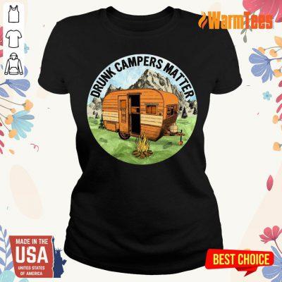 Drunk Campers Matter Ladies Tee