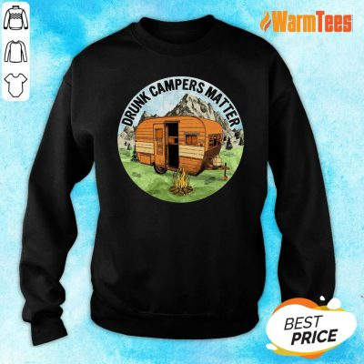 Drunk Campers Matter Sweater