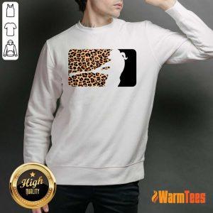 Hot Cheetah Softball Sweater