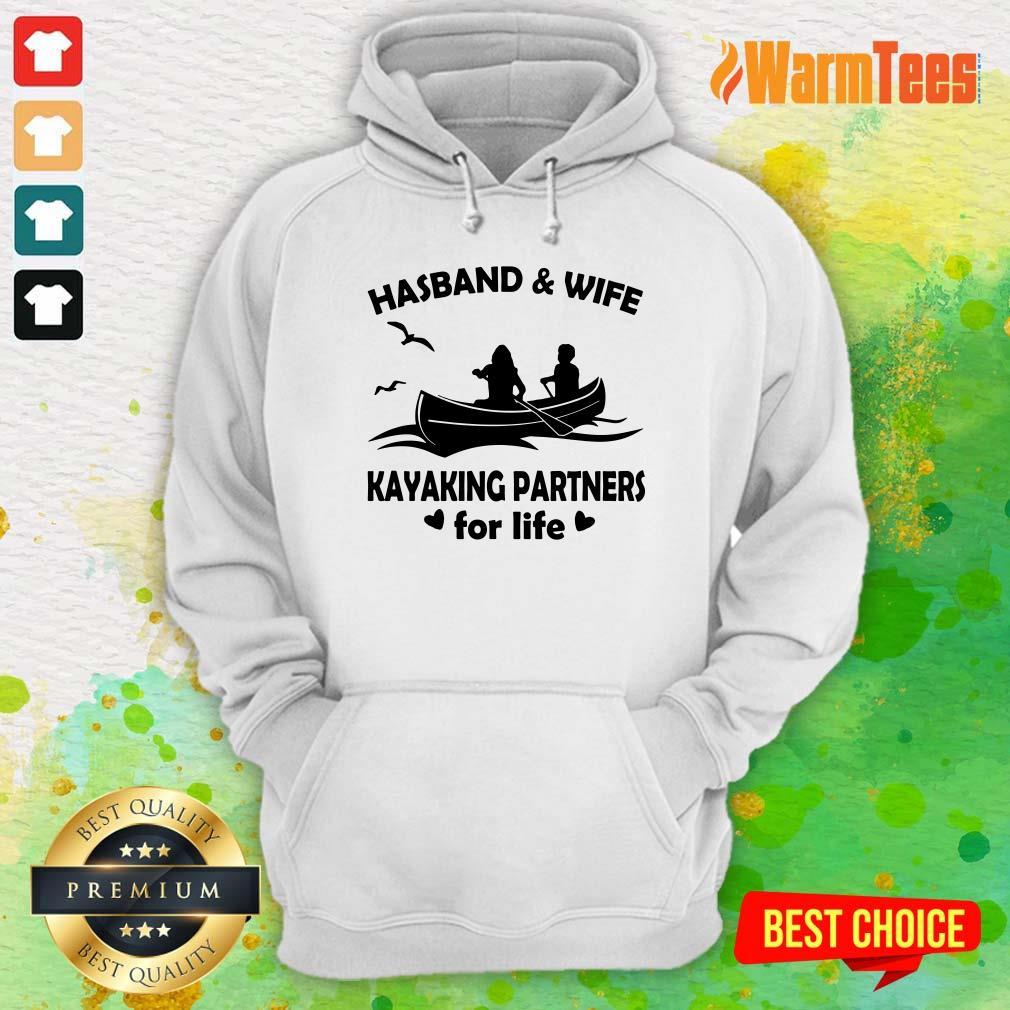 Husband And Wife Kayaking Partners Hoodie